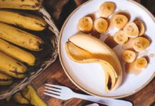 Plátano potasio