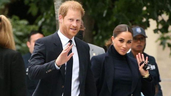 El príncipe Harry y Meghan Markle reaparecen públicamente en Nueva York