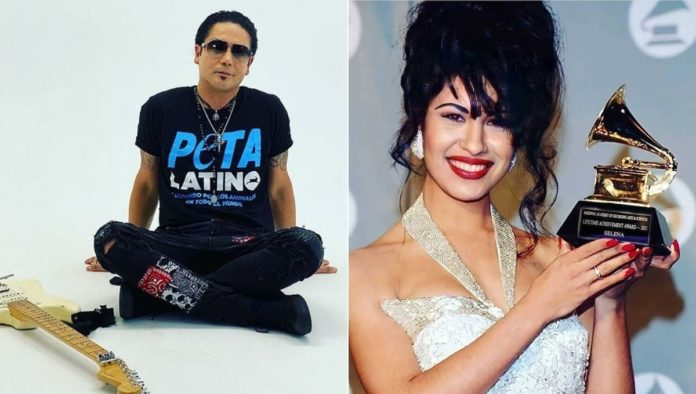 Chris Perez revela fotografía inédita de Selena Quintanilla