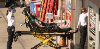 Persona hospitalizada por COVID-19