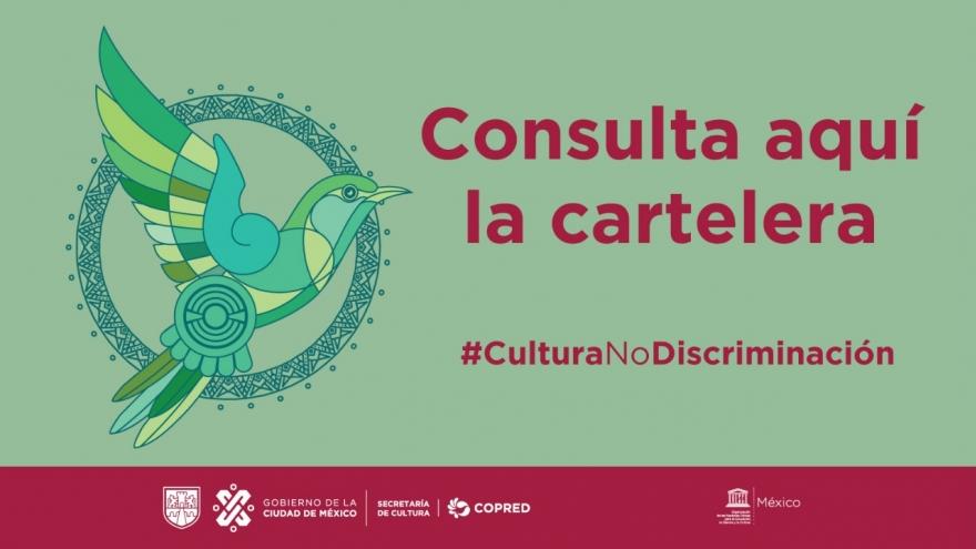 Octubre, mes de la cultura por la no discriminación