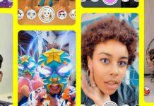 TikTok y Snapchat filtros